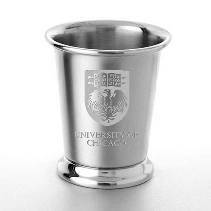 615789286127: Chicago Pewter Julep Cup by M.LaHart & Co.