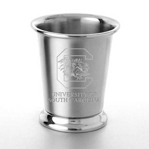 615789430254: South Carolina Pewter Julep Cup by M.LaHart & Co.