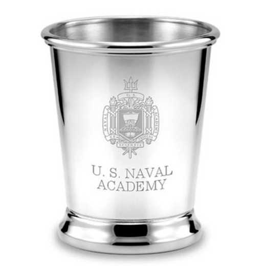 615789477501: Naval Academy Pewter Julep Cup by M.LaHart & Co.
