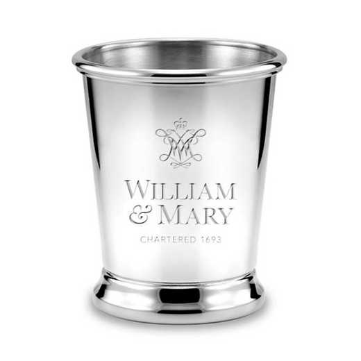 615789602392: William & Mary Pewter Julep Cup by M.LaHart & Co.
