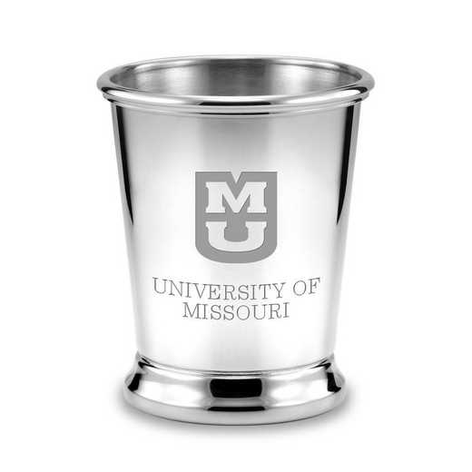 615789615040: University of Missouri Pewter Julep Cup by M.LaHart & Co.