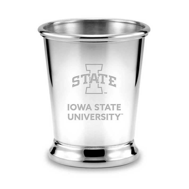 615789690856: Iowa State University Pewter Julep Cup by M.LaHart & Co.