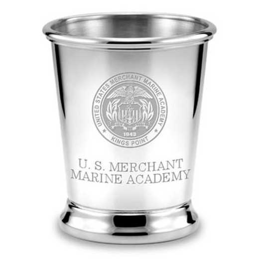 615789697657: Merchant Marine Academy Pewter Julep Cup by M.LaHart & Co.