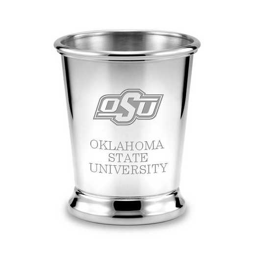 615789752721: Oklahoma State University Pewter Julep Cup by M.LaHart & Co.