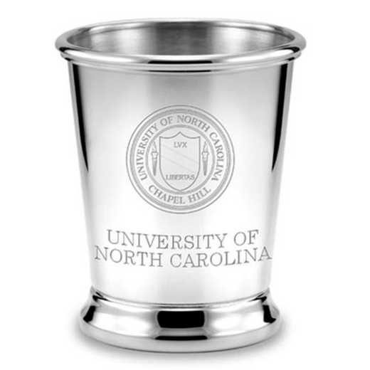 615789757832: UNC Pewter Julep Cup by M.LaHart & Co.