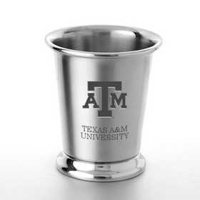 615789781158: Texas A&M Pewter Julep Cup by M.LaHart & Co.
