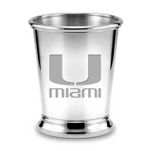 615789787563: Miami Pewter Julep Cup by M.LaHart & Co.