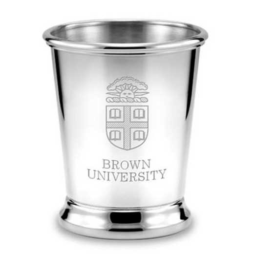 615789885573: Brown Pewter Julep Cup by M.LaHart & Co.