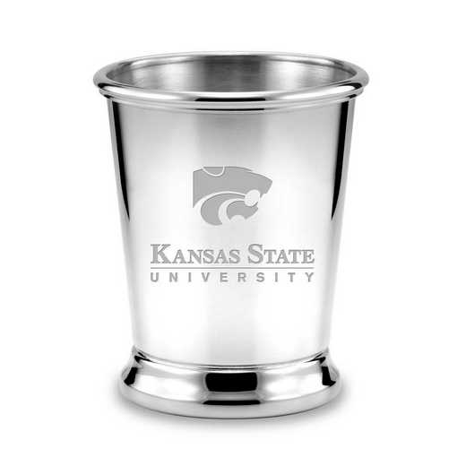615789949268: Kansas State University Pewter Julep Cup by M.LaHart & Co.