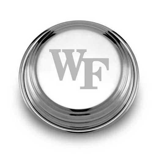 615789040606: Wake Forest Pewter Paperweight