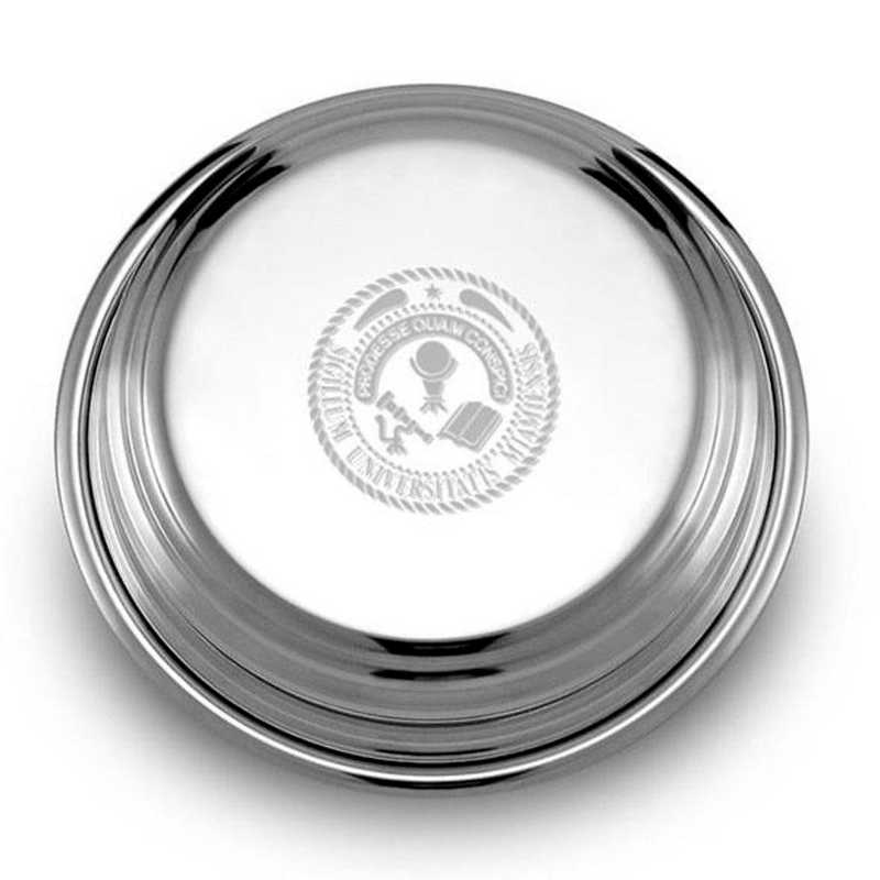 615789062127: Miami University Pewter Paperweight