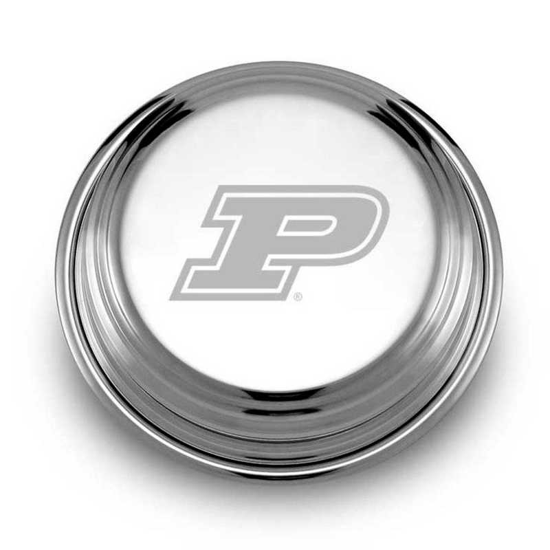 615789086611: Purdue University Pewter Paperweight