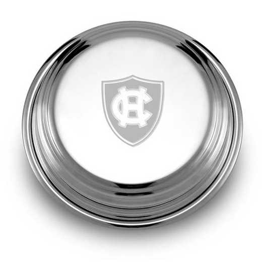 615789092407: Holy Cross Pewter Paperweight