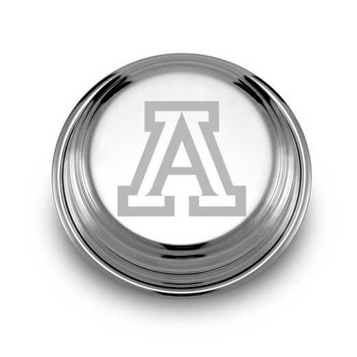 615789121763: University of Arizona Pewter Paperweight