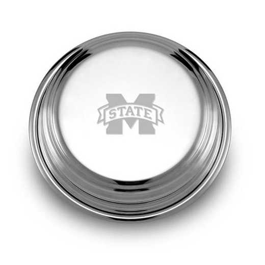 615789162520: Mississippi State Pewter Paperweight