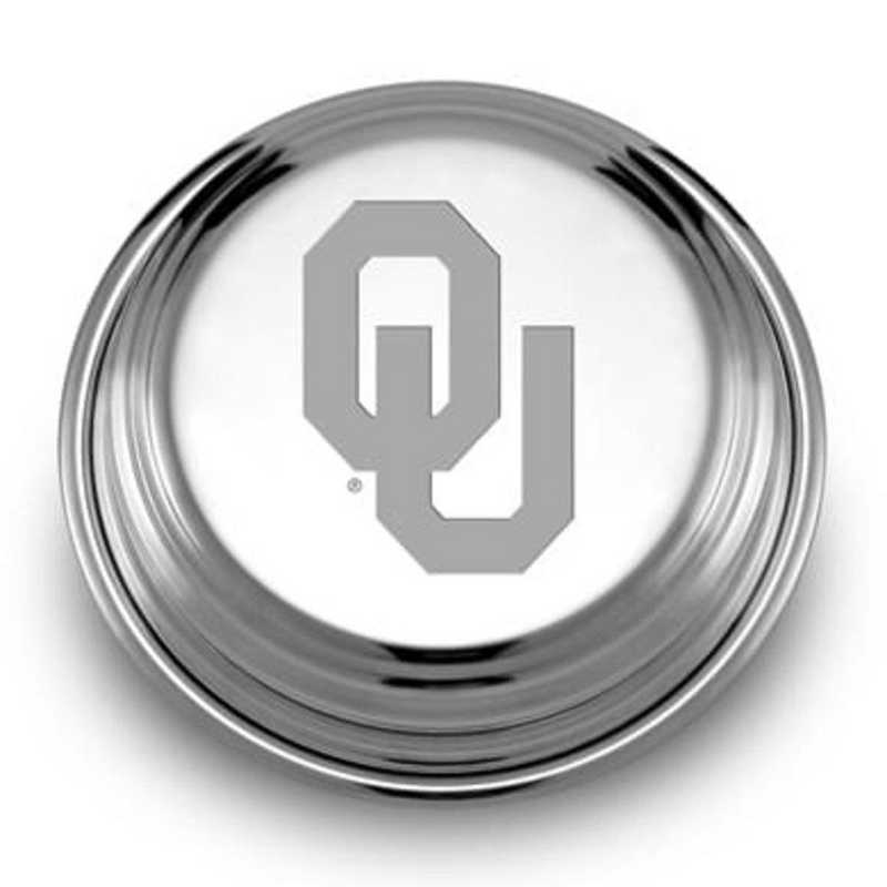 615789198956: Oklahoma Pewter Paperweight