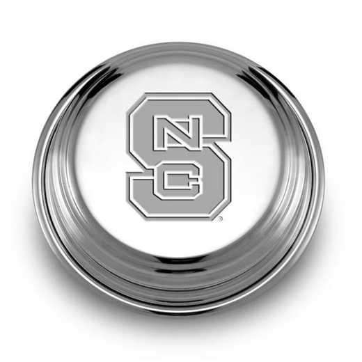 615789252580: NC State Pewter Paperweight
