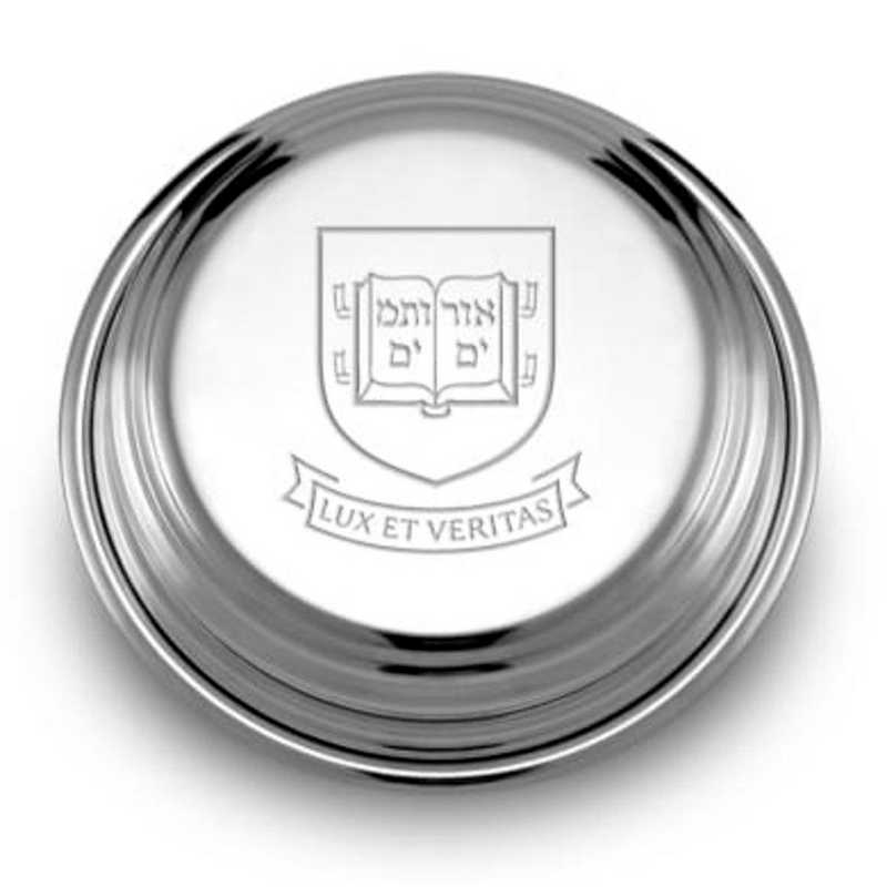 615789267973: Yale Pewter Paperweight