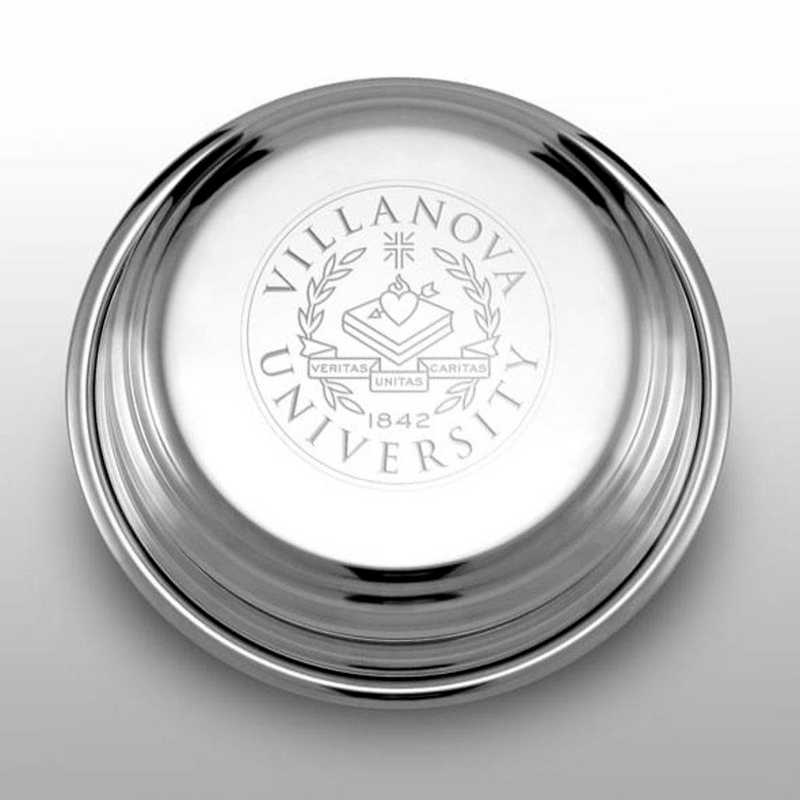 615789424079: Villanova University Pewter Paperweight
