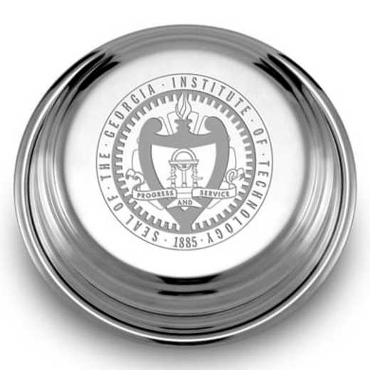 615789473503: Georgia Tech Pewter Paperweight