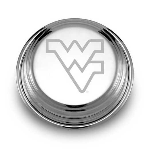 615789522195: West Virginia University Pewter Paperweight