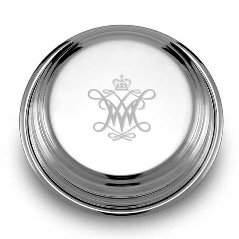 615789527770: William & Mary Pewter Paperweight