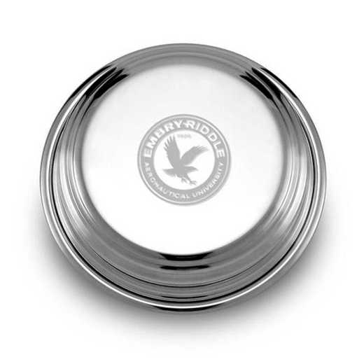 615789536352: Embry-Riddle Pewter Paperweight