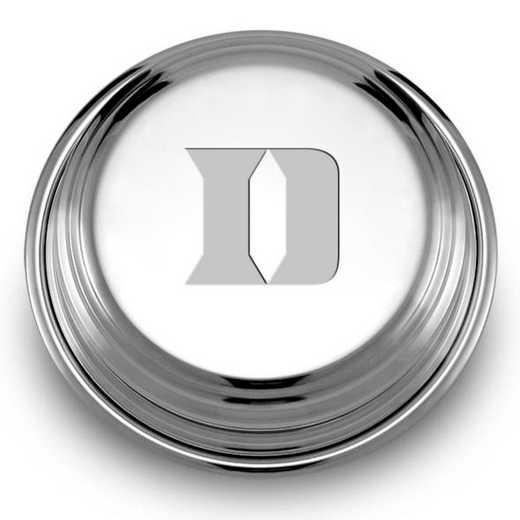 615789604662: Duke Pewter Paperweight