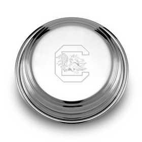 615789652595: South Carolina Pewter Paperweight