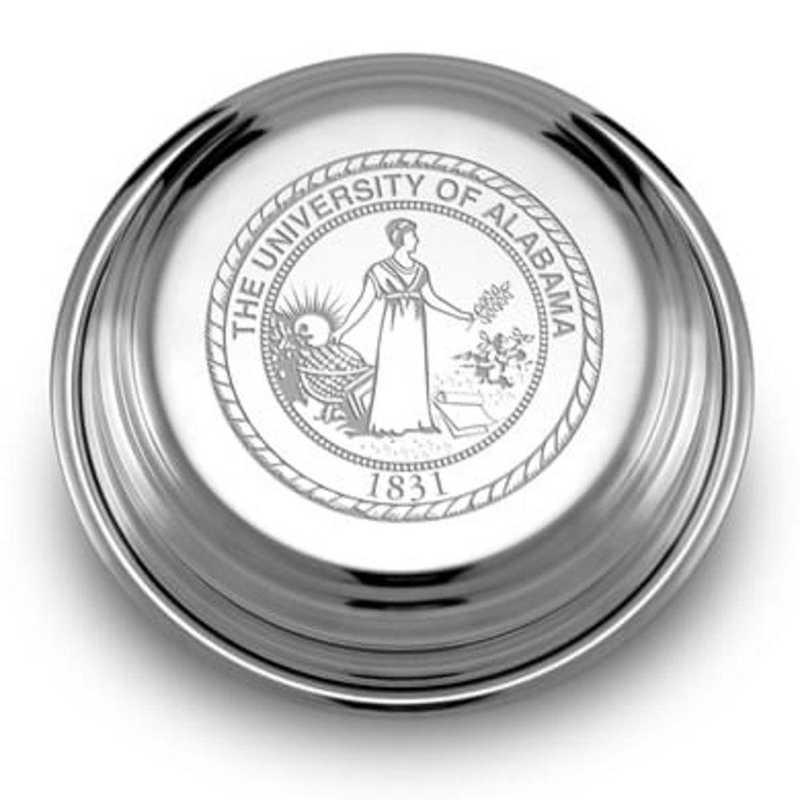 615789661054: Alabama Pewter Paperweight