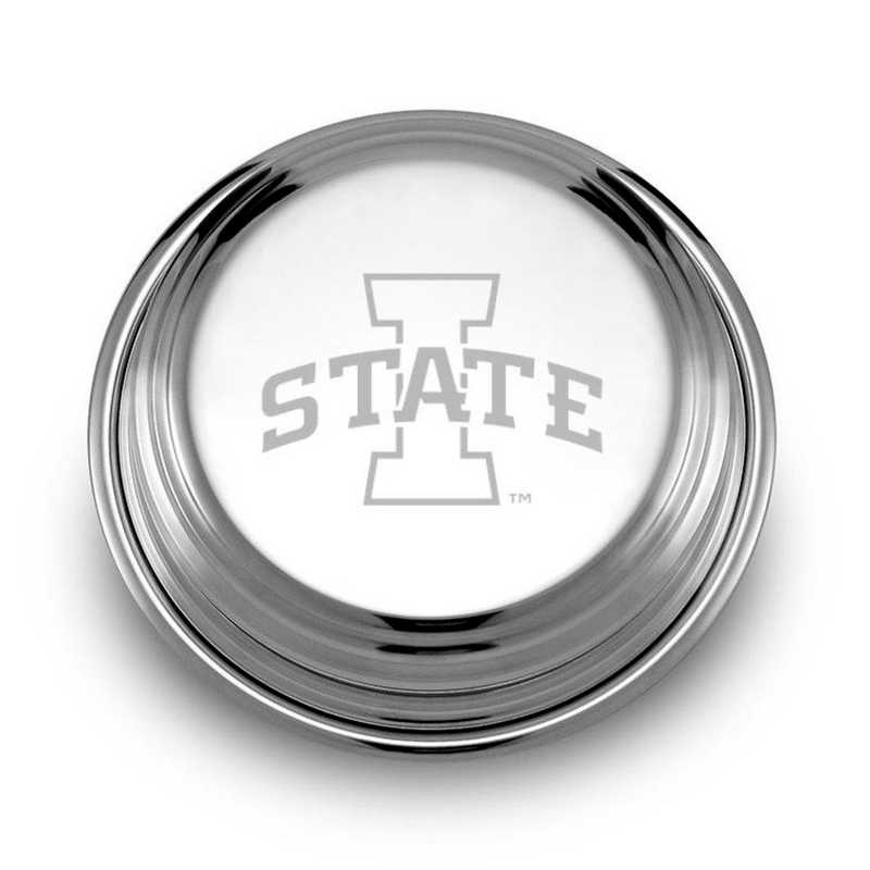 615789726418: Iowa State University Pewter Paperweight