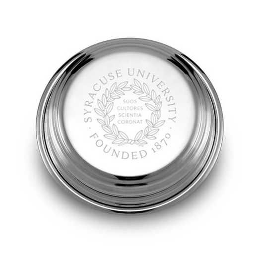 615789791096: Syracuse University Pewter Paperweight