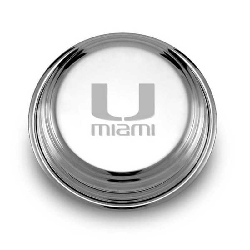 615789793717: Miami Pewter Paperweight