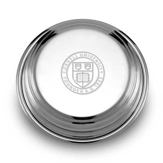 615789807278: Cornell Pewter Paperweight