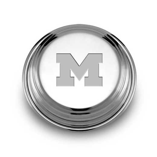 615789841135: Michigan Pewter Paperweight