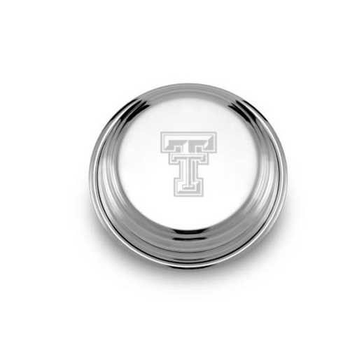 615789900603: Texas Tech Pewter Paperweight