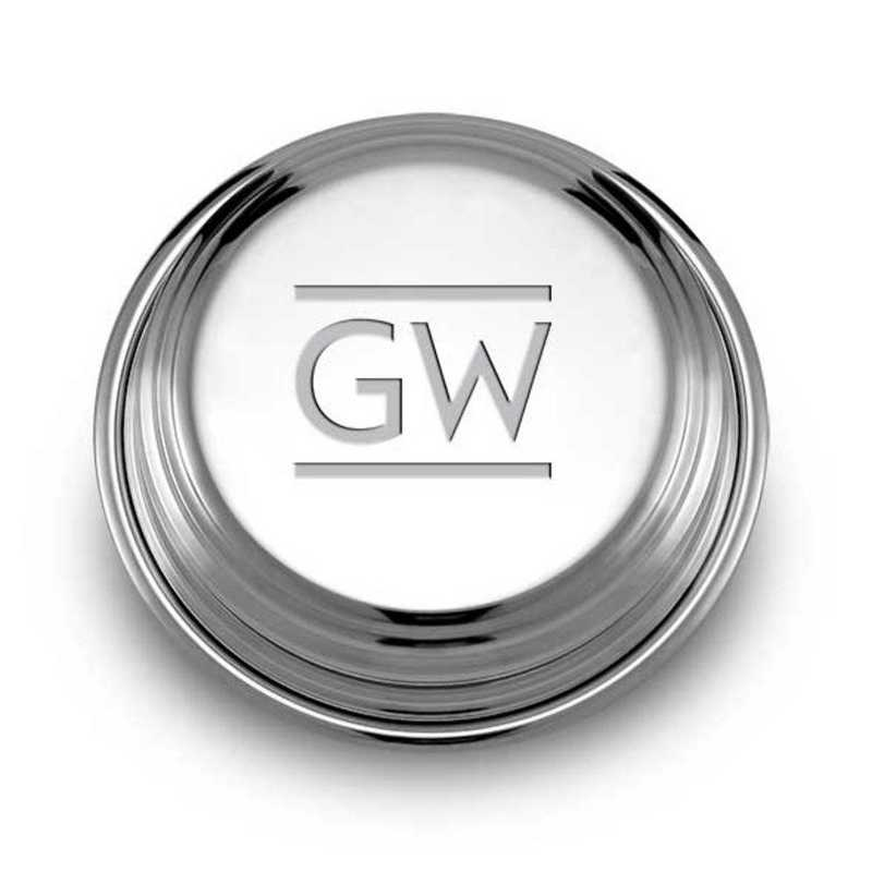 615789990710: George Washington Pewter Paperweight