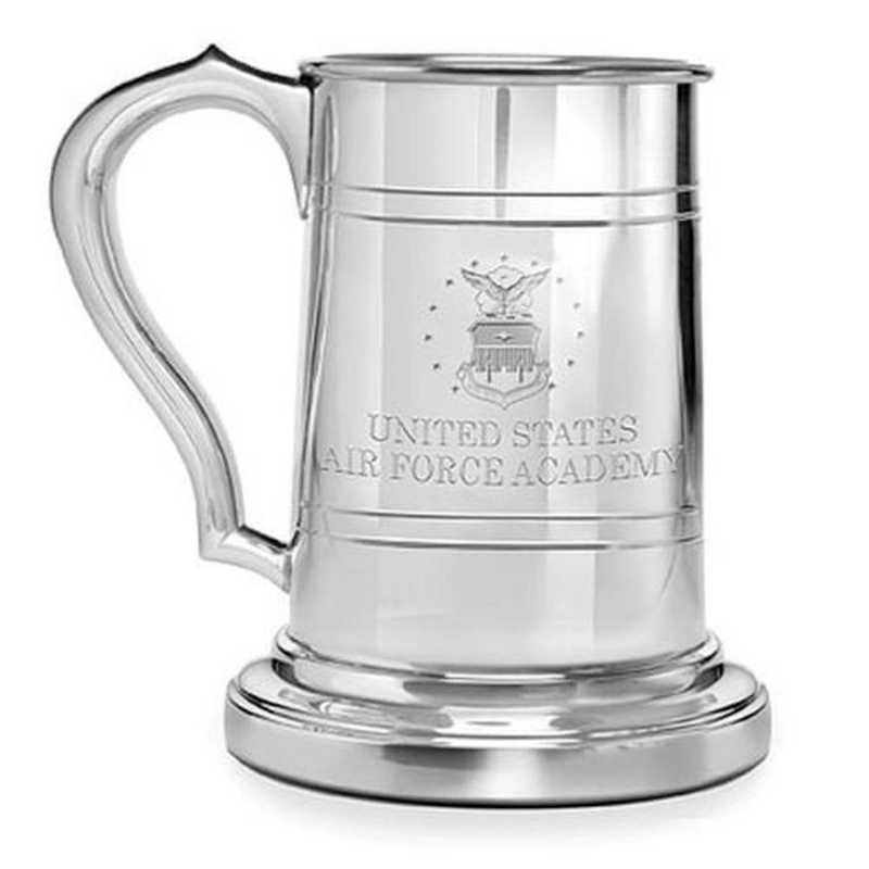 615789024255: Air Force Academy Pewter Stein by M.LaHart & Co.