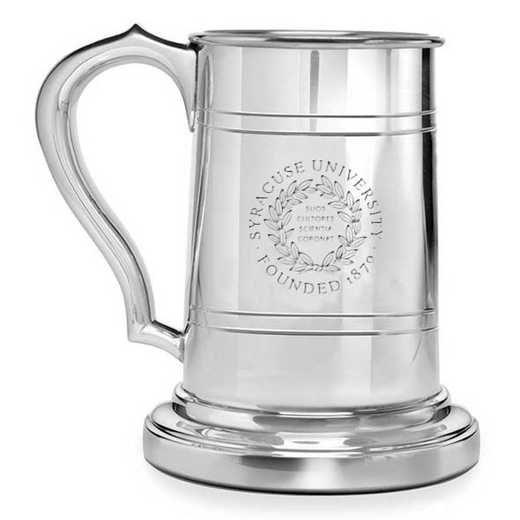 615789057246: Syracuse University Pewter Stein by M.LaHart & Co.