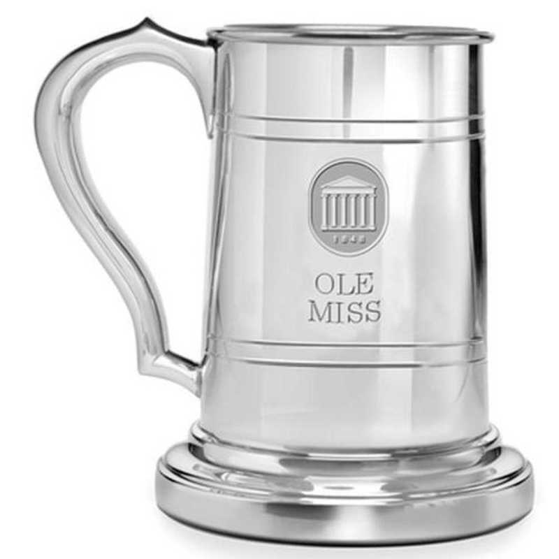 615789132196: Ole Miss Pewter Stein by M.LaHart & Co.