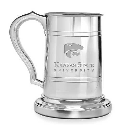 615789165972: Kansas State University Pewter Stein by M.LaHart & Co.