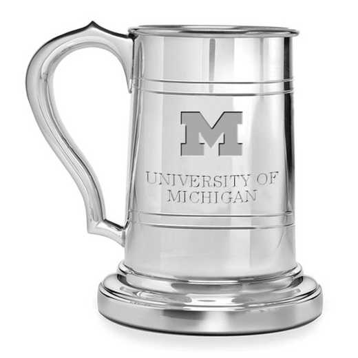 615789189947: Michigan Pewter Stein by M.LaHart & Co.