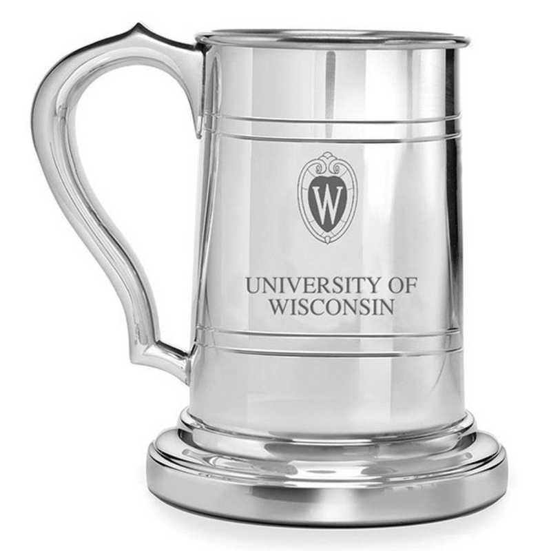 615789215042: Wisconsin Pewter Stein by M.LaHart & Co.
