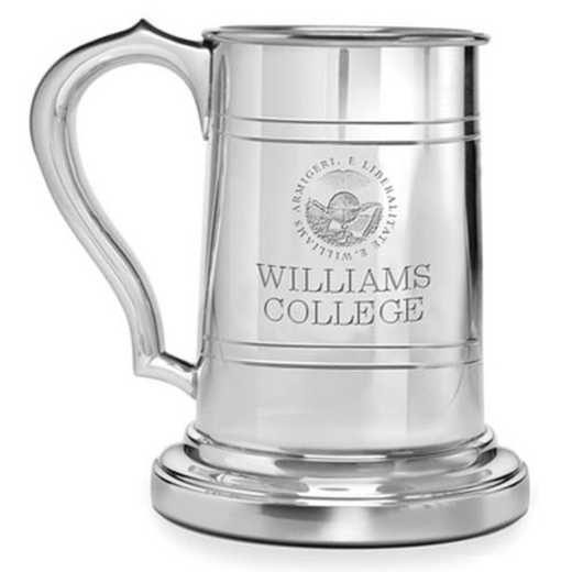 615789250708: Williams College Pewter Stein by M.LaHart & Co.