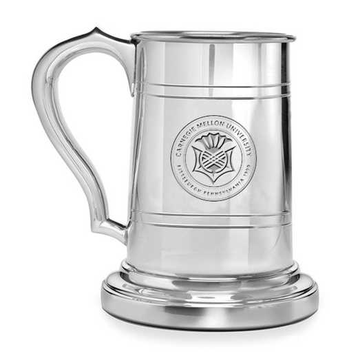 615789288817: Carnegie Mellon University Pewter Stein by M.LaHart & Co.