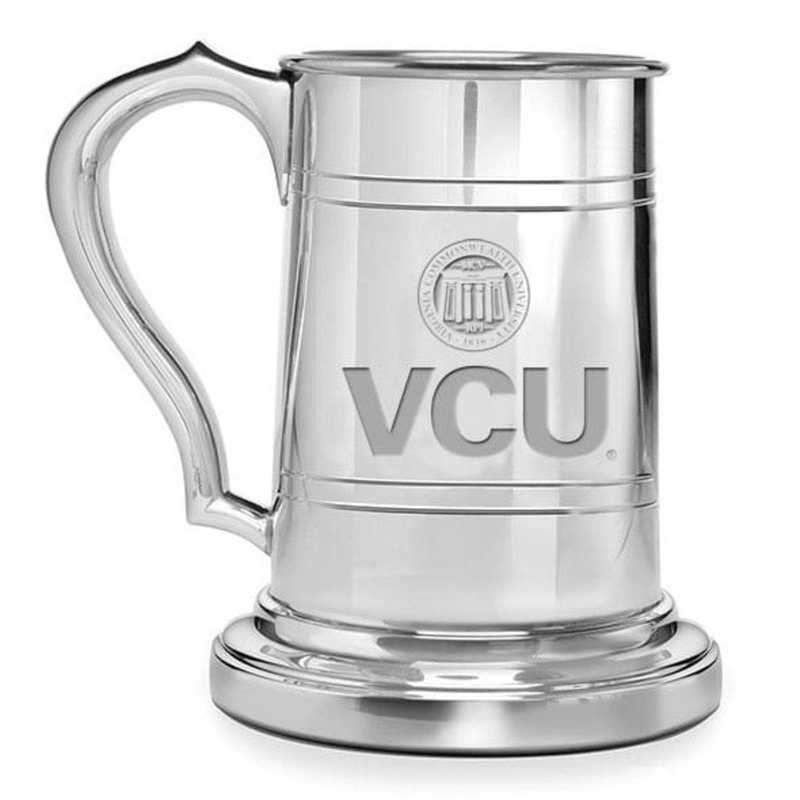 615789288923: VCU Pewter Stein by M.LaHart & Co.