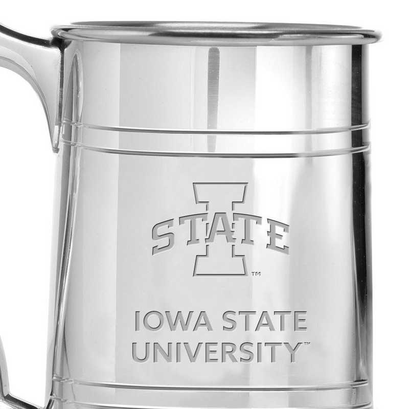 615789361121: Iowa State University Pewter Stein by M.LaHart & Co.
