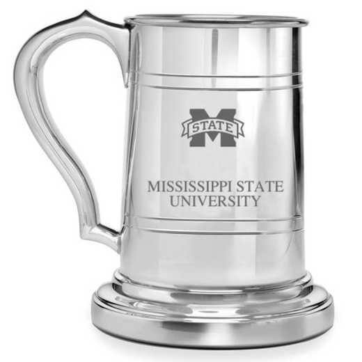 615789399308: Mississippi State Pewter Stein by M.LaHart & Co.