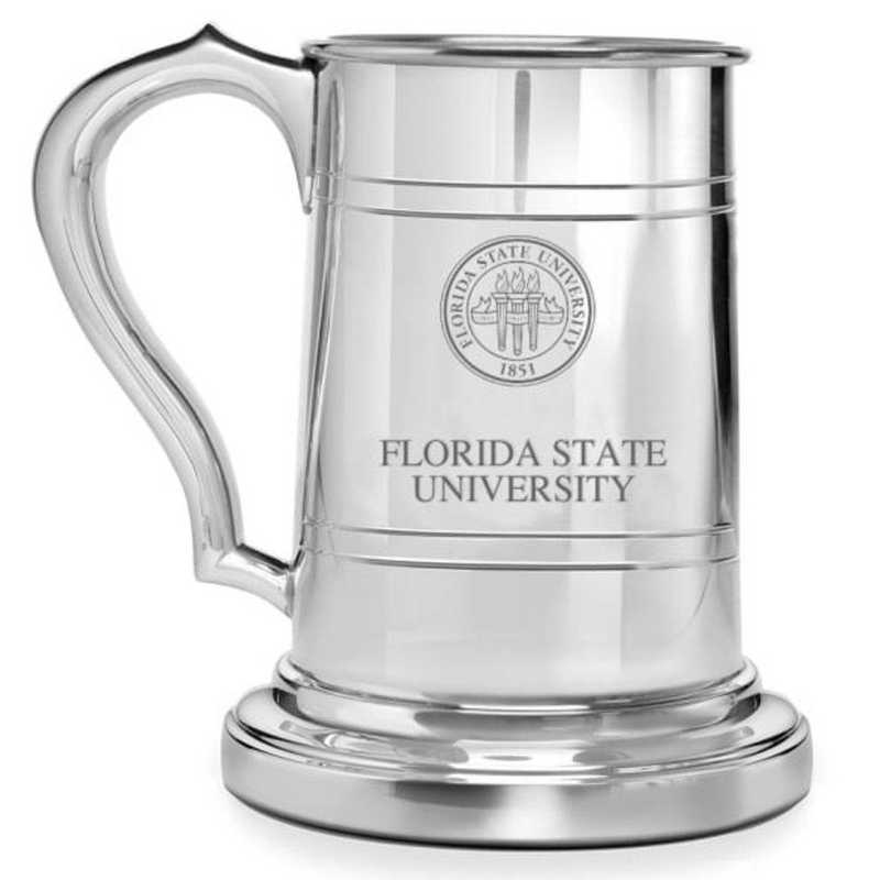 615789504429: Florida State Pewter Stein by M.LaHart & Co.