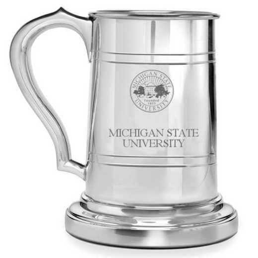 615789597148: Michigan State Pewter Stein by M.LaHart & Co.